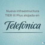 Nueva infraestructura TIER III Plus en Telefónica