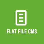 Flat File CMS disponible en tu hosting Linux!